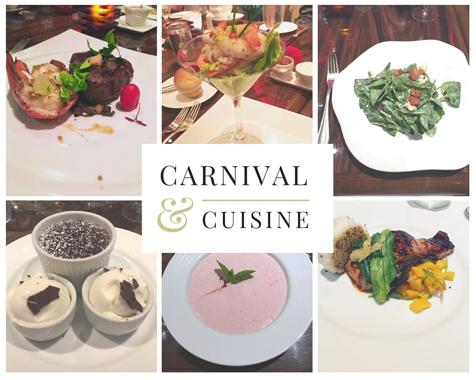 9 Reasons Cruising the Carnival Magic Good for Adults - Carnival Cuisine