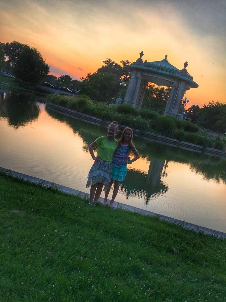 Meet Me at the Muny - Mamma Mia - Forets Park Sunset