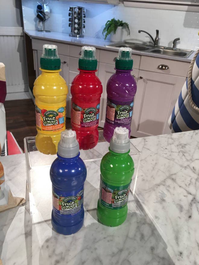 Back to School Must Haves for Lunches, Laundry and Routine: Fruit Shoot