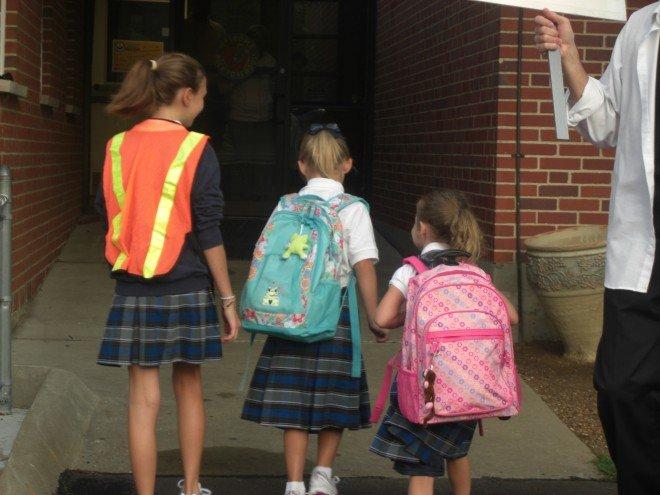 Delaney First Day of Kindergarten
