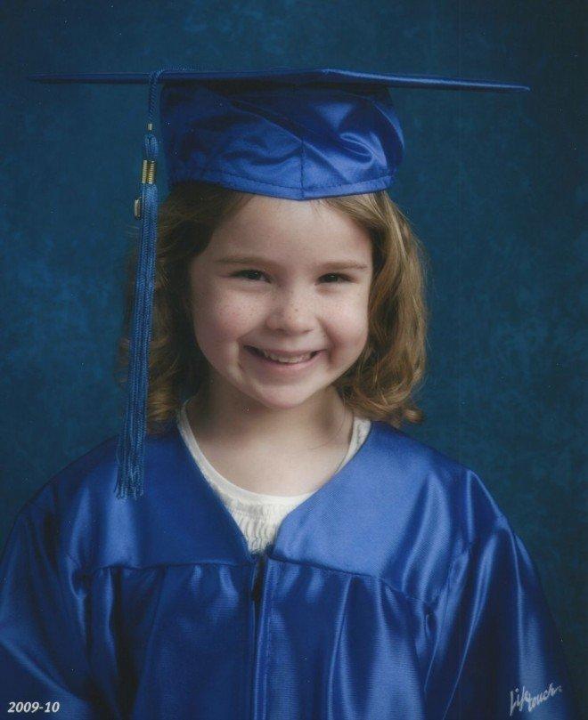 Delaney Kindergarten Graduation