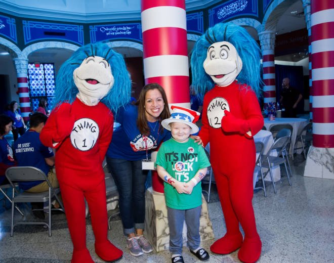 Carnival Cruise #DayofPlay at St. Jude's Hospital: Thing 1, Thing 2
