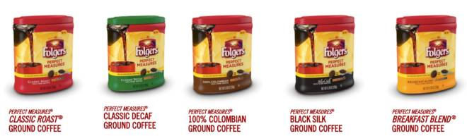 Folgers Perfect Measures Varities