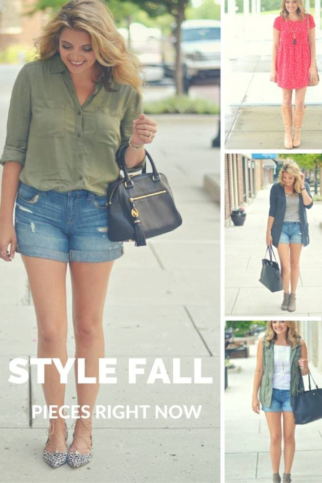 How to Style Fall Pieces Now