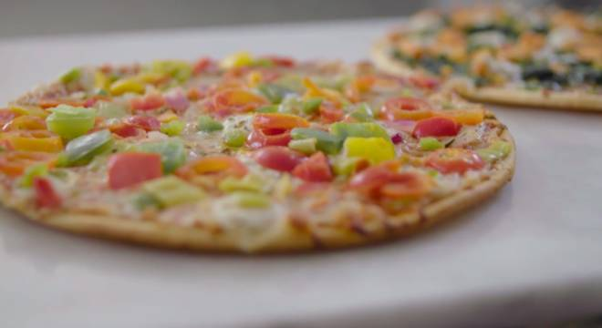 Introducing Virtuoso Pizza - Vegetable Medley