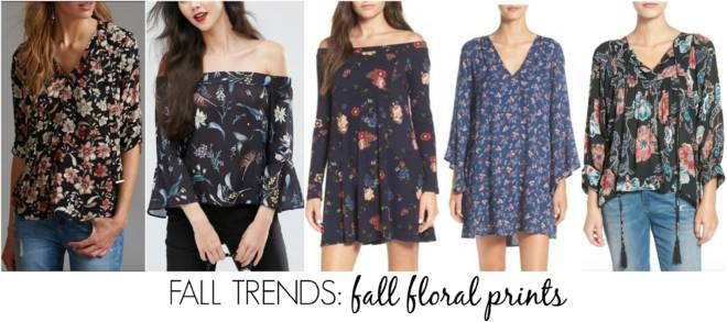 must-have fall trends - fall floral prints