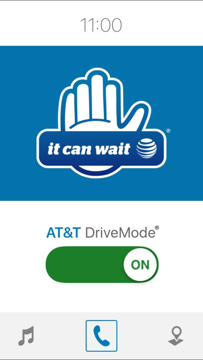 It Can Wait - Making a Pledge to Stop Distracted Driving - Drive Mode App