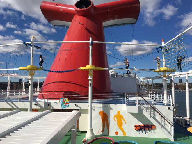 #HelloVista Introducing the Carnival Vista to the World with Carrie Underwood SkyWalk