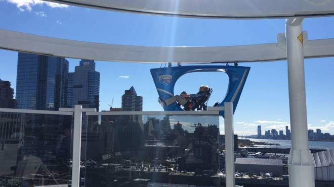 #HelloVista Introducing the Carnival Vista to the World with Carrie Underwood SkyRide Cooper