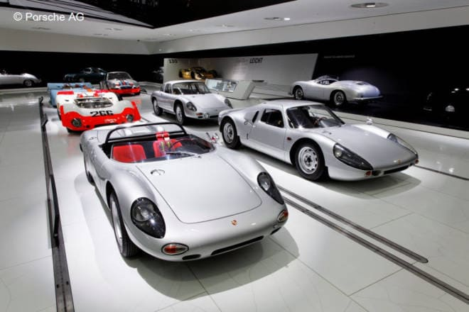 Planning A Road Trip through the Alps: Porsche Museum