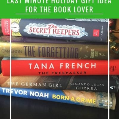 Last Minute Gift Idea for the Book Lover: Just the Right Book