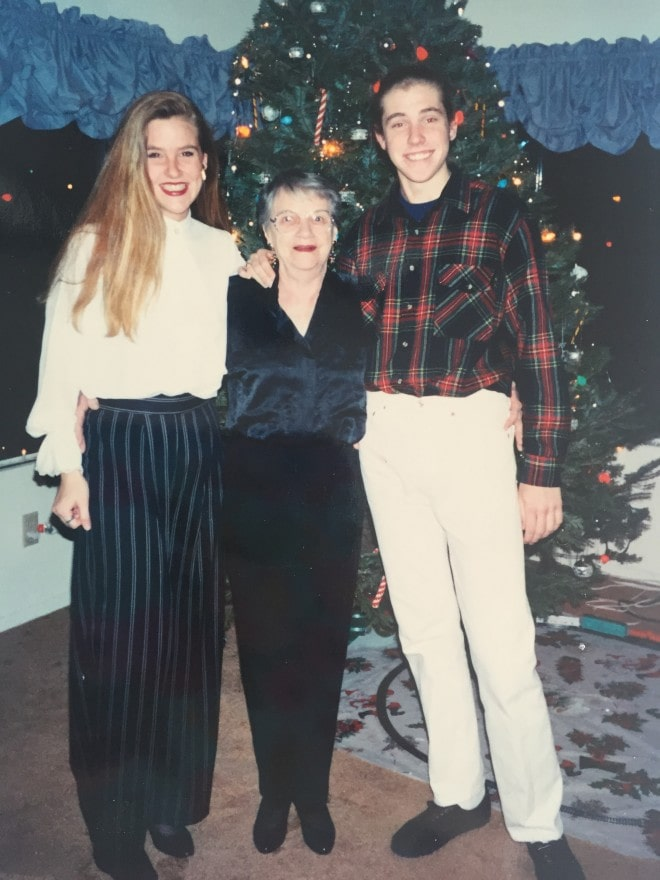 GramsDanielleJoshChristmas1990