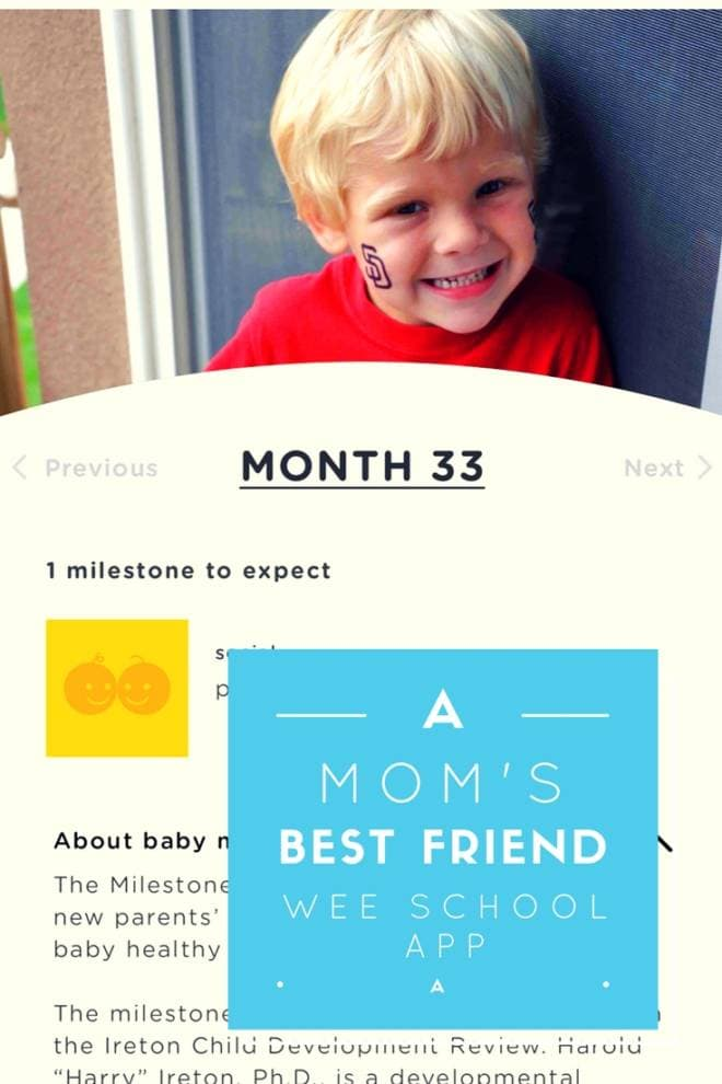 A Mom's Best Friend: The Wee School App