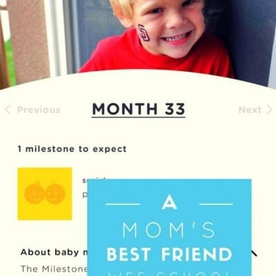 A Mom's Best Friend: The Wee School App