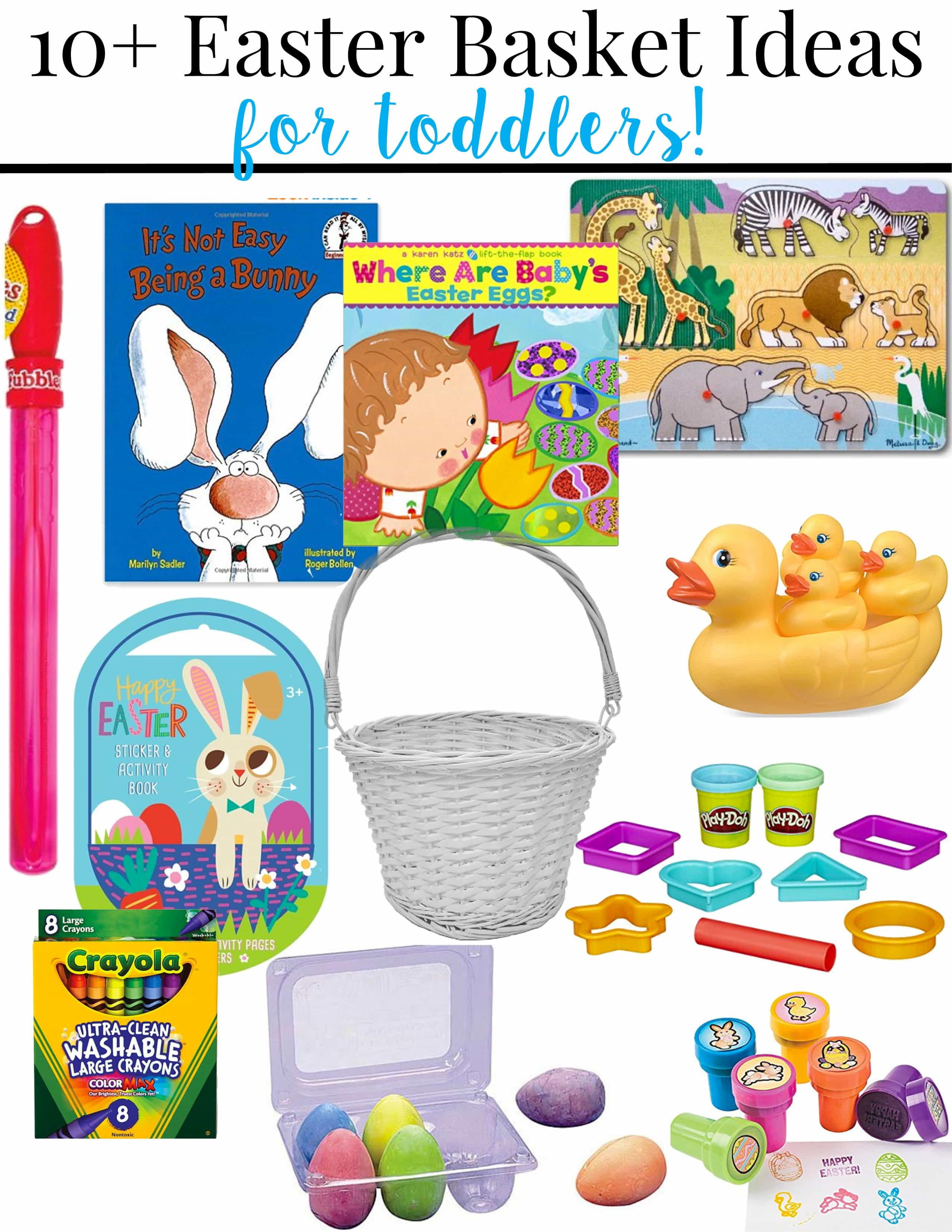 Toddler easter basket ideas pretty extraordinary negle Choice Image