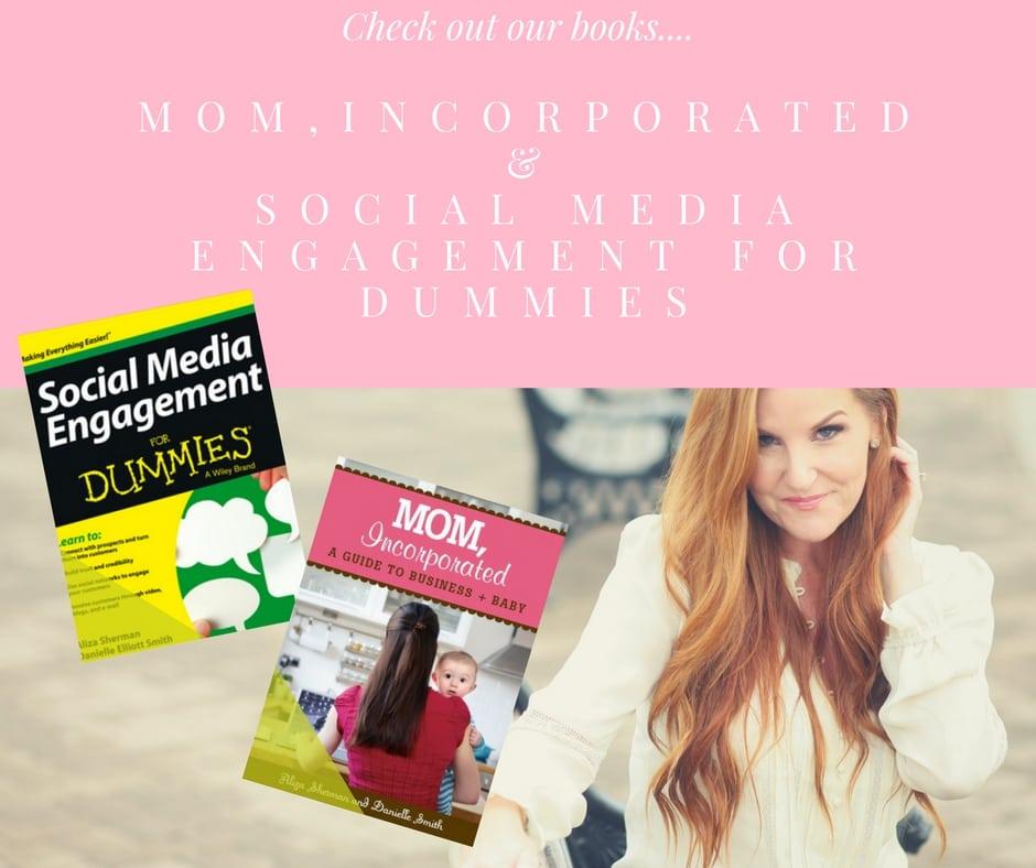 Danielle Smith Books - Mom, Incorporated & Social Media Engagement for Dummis