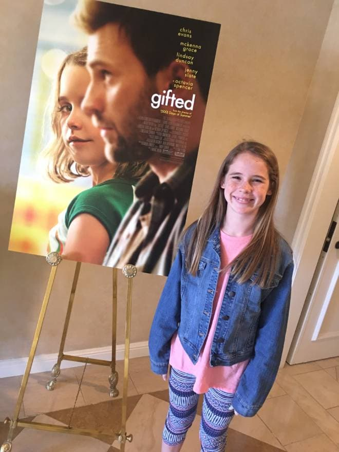 A Los Angeles Experience: #GiftedMovie Premiere - Delaney