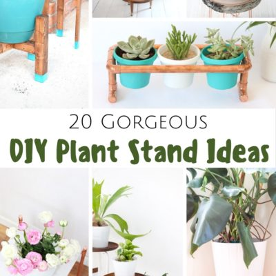 20 Gorgeous DIY Plant Stand Ideas