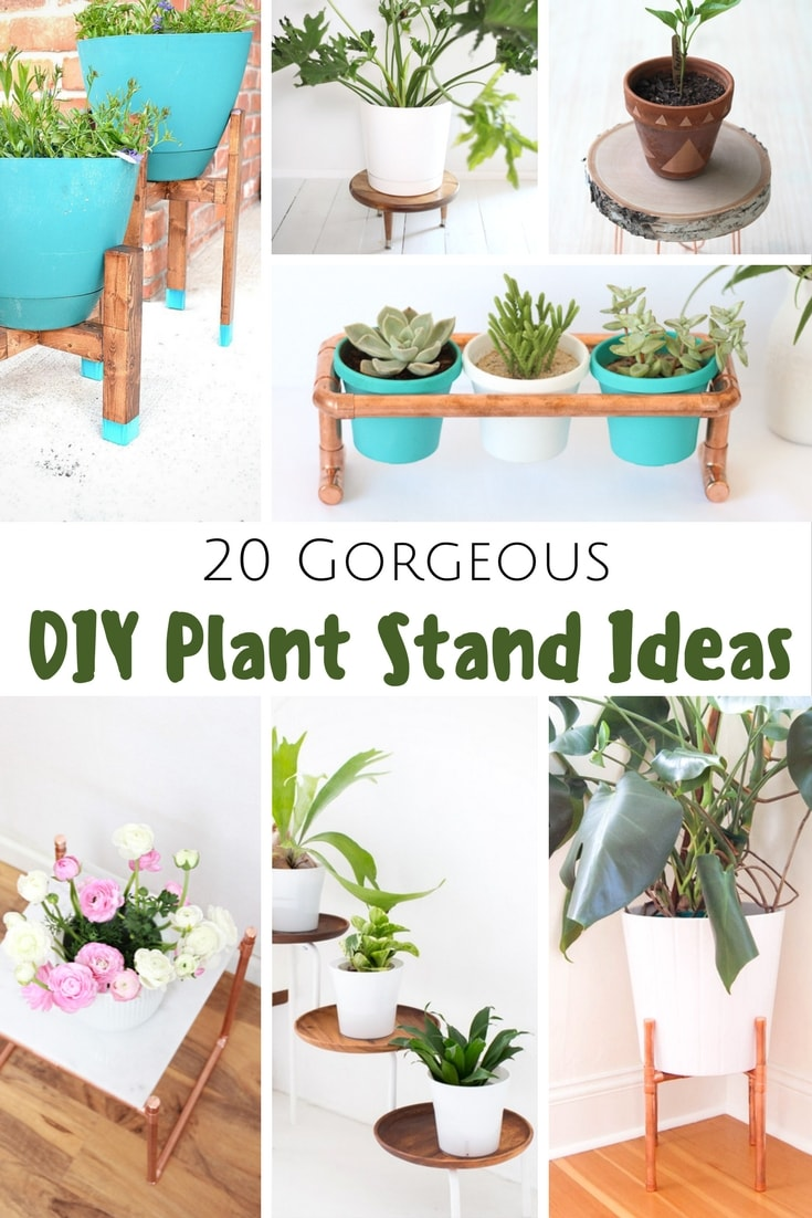 20 Gorgeous Diy Plant Stand Ideas Pretty Extraordinary