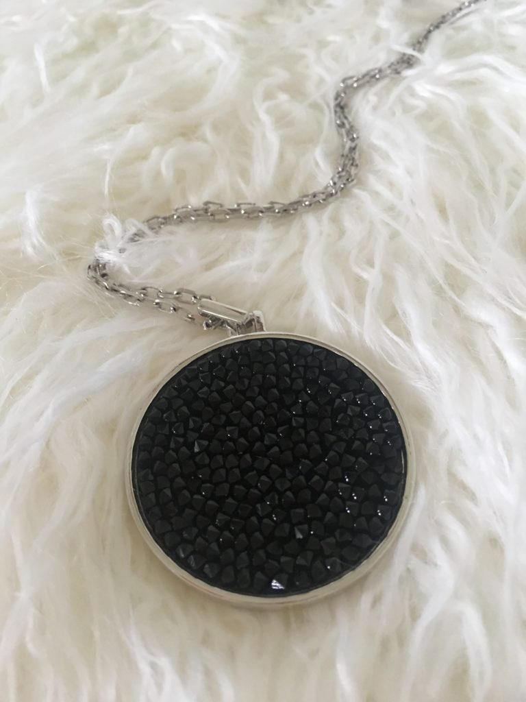 Gorgeous Spring and Summer Jewelry Must Haves: TouchstoneCrystal - Rock and Roll Pendant