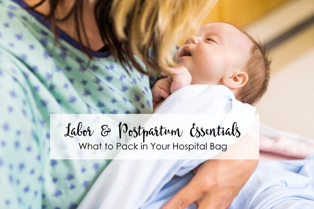 What You REALLY Need to Pack in Your Hospital Bag for Labor