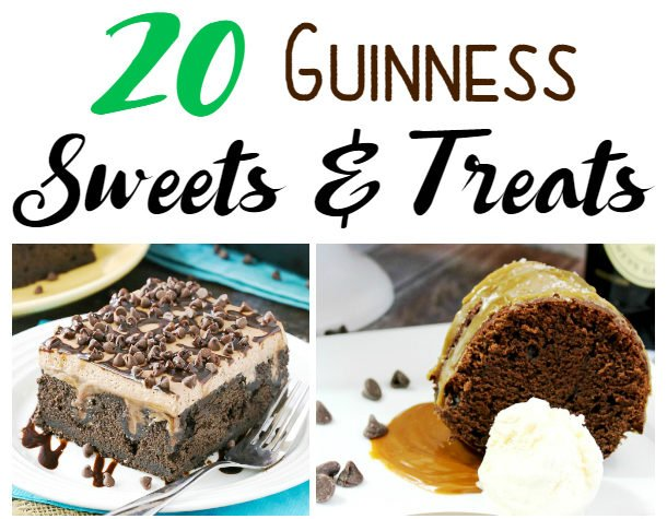 20 Guinness Sweets and Treats (Salted Caramel Chocolate Guinness Cookies are to die for!)