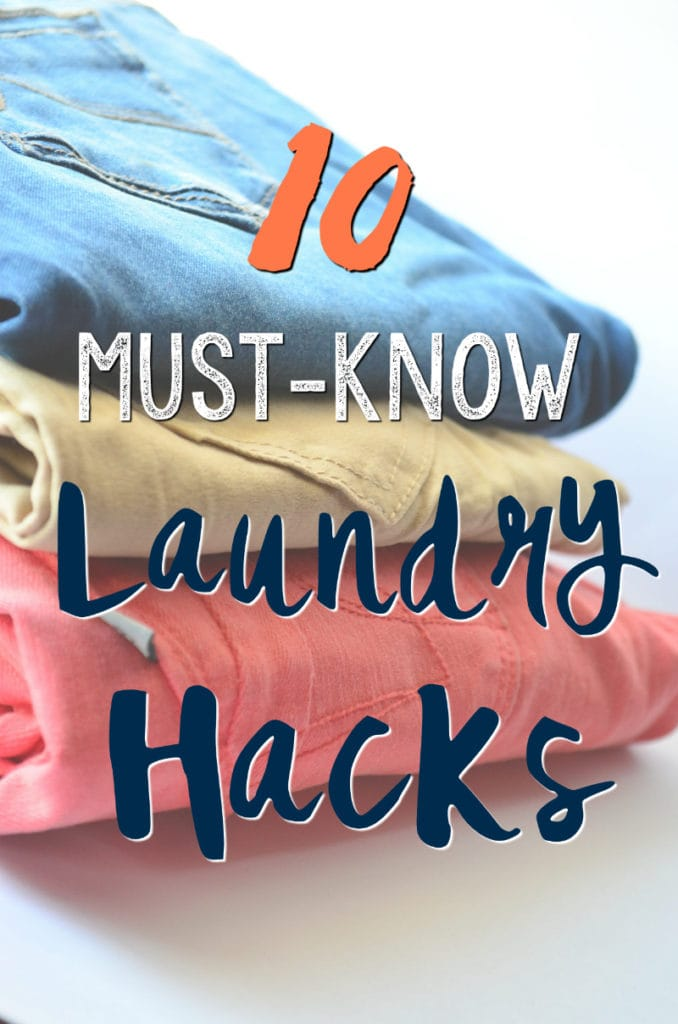 10 Laundry Hacks You Need to Know (who knew ice cubes could make all the difference?)