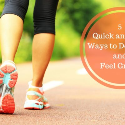 5 Quick Ways to De-Stress and Feel Great