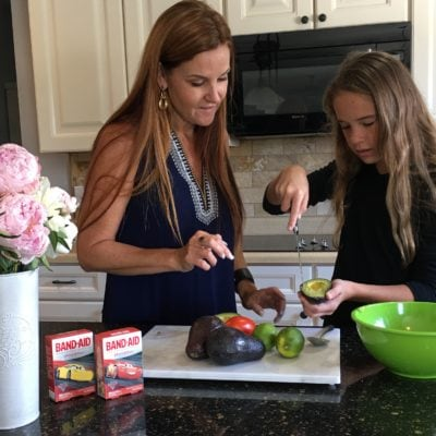 The Sweetness of Cooking with Kids: Summer Fresh Guacamole