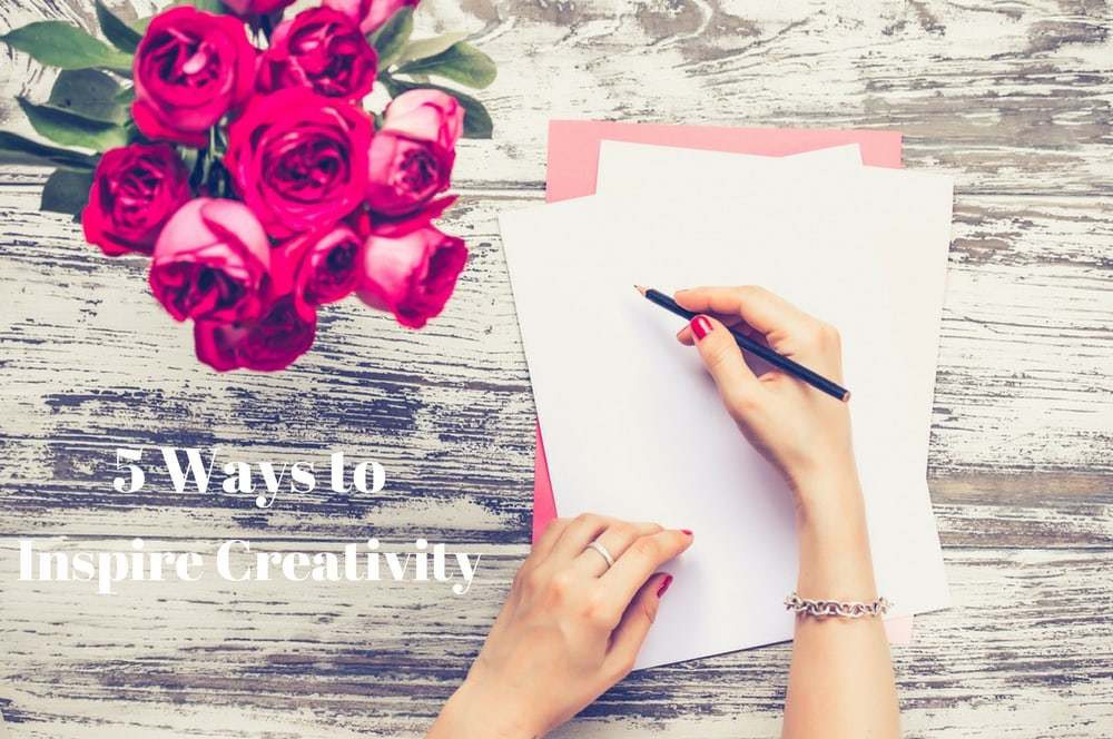 5 Ways to Inspire Creativity