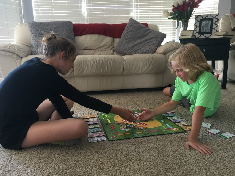 Indoor Fun for Your Kids: Play a board game