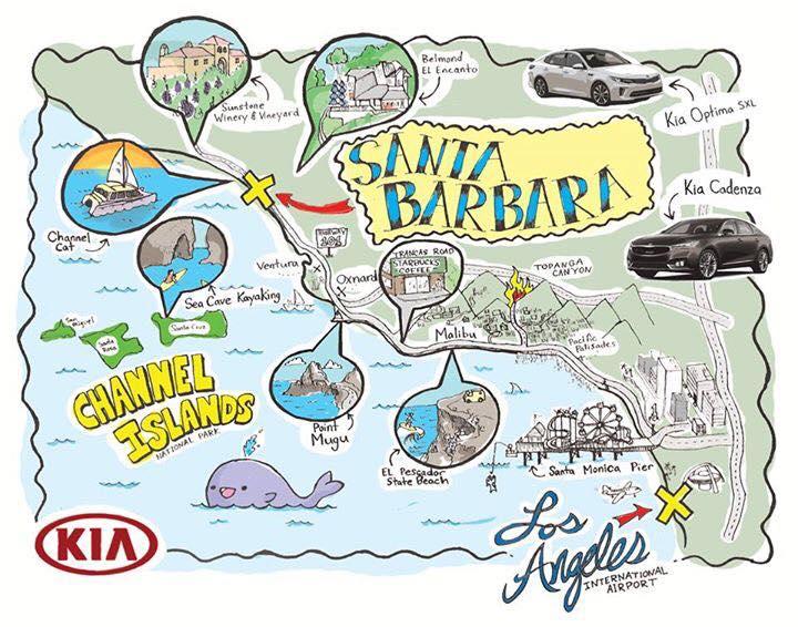 KiaSBExp itinerary