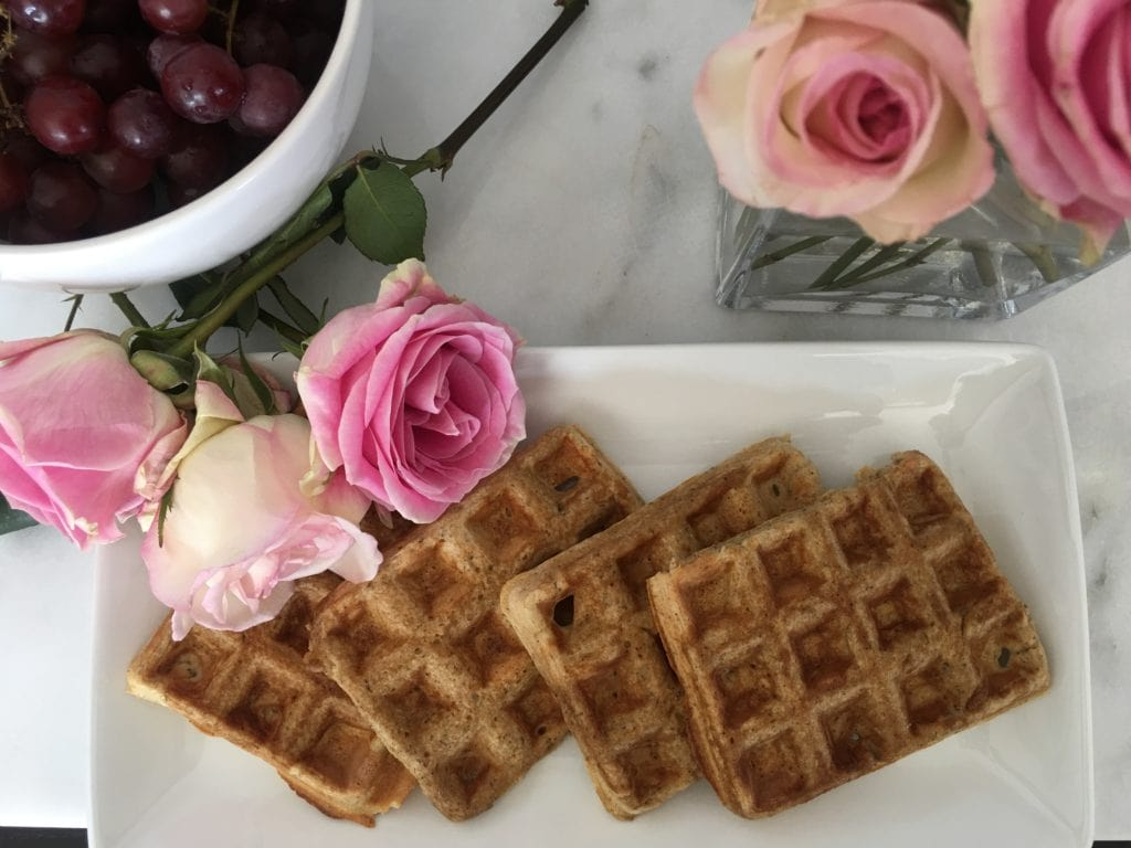 Start Your Mornings Right #ChooseStartRight - Delicious Waffles!