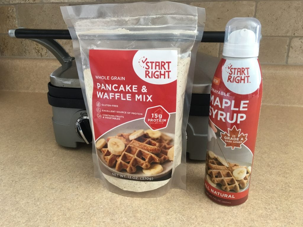 Start Your Mornings Right #ChooseStartRight - Delicious Pancake and Waffle Mix + Sprayable Maple Syrup