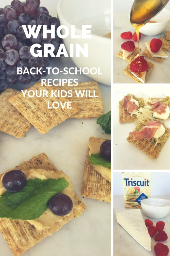 Whole Grain Back to School Snacks Your Kids Will Love - From the sweet to the salty...a little bit of goodness for every taste.