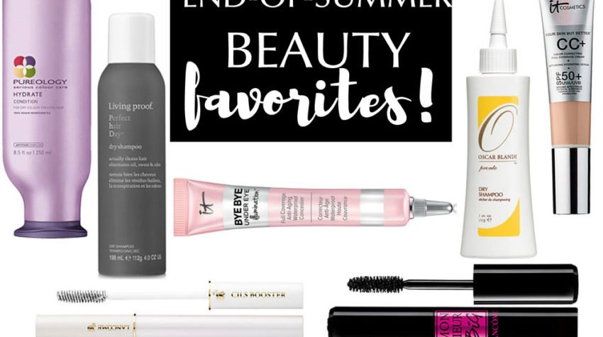 end of summer beauty favorites
