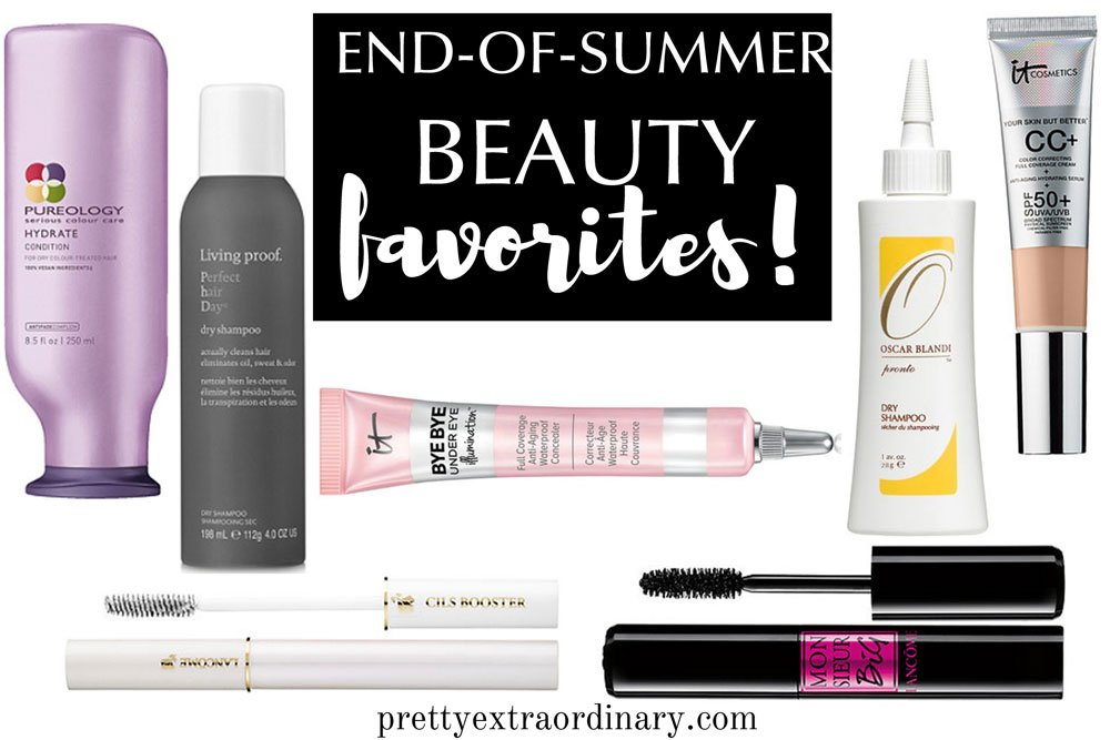 end of summer beauty favorites
