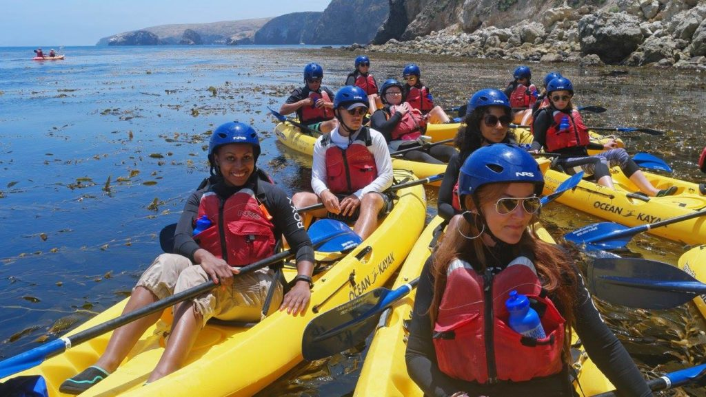 The Definition of Luxury - Kayaking in the Channel Islands - Santa Barbara with Kia Motors