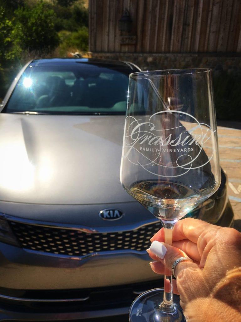 The Definition of Luxury - Grassini Vineyards - Santa Barbara with Kia Motors