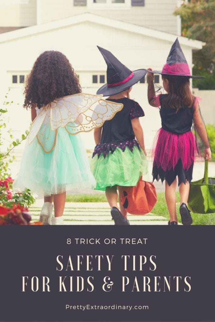 8 Trick or Treat Safety Tips for Kids and Parents | PrettyExtraordinary.com