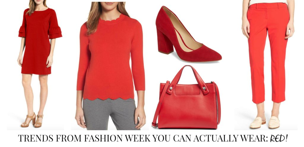 Trends from Fashion Week You Can Actually Wear - Reds