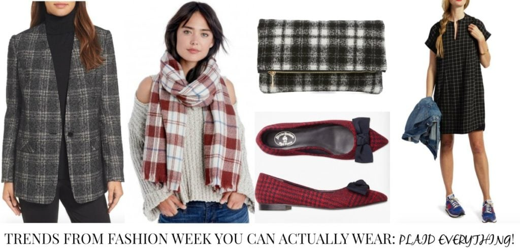 Trends from Fashion Week You Can Actually Wear - Plaid Everything