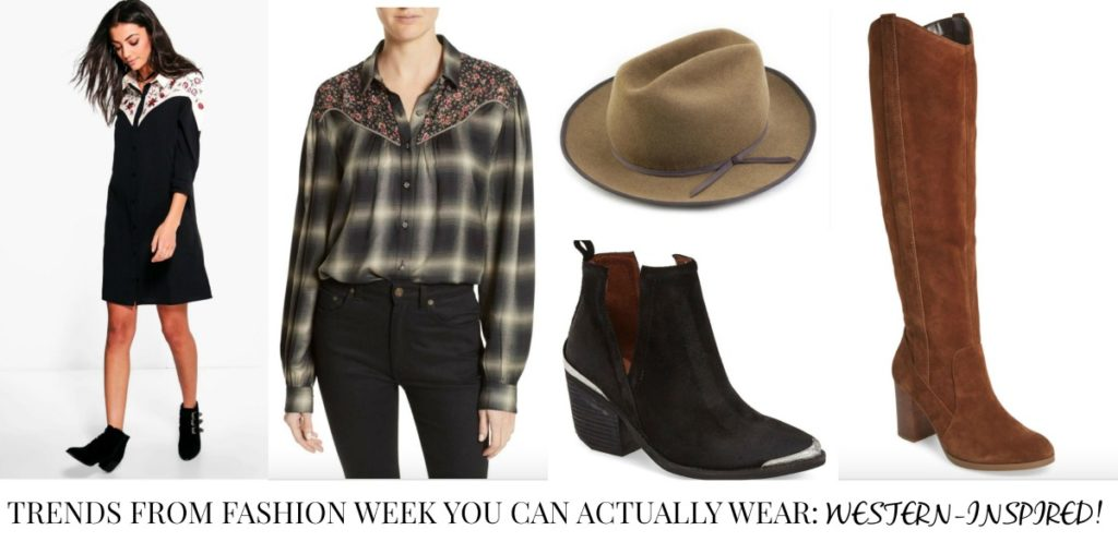 Trends from Fashion Week You Can Actually Wear - Western Inspired