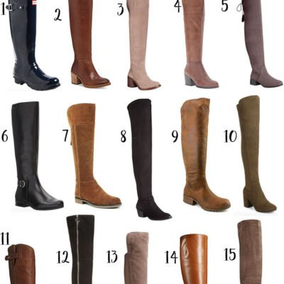 Knee High and Over the Knee Boots Under $100