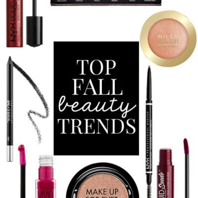 Five Fall Beauty Trends You Should Try