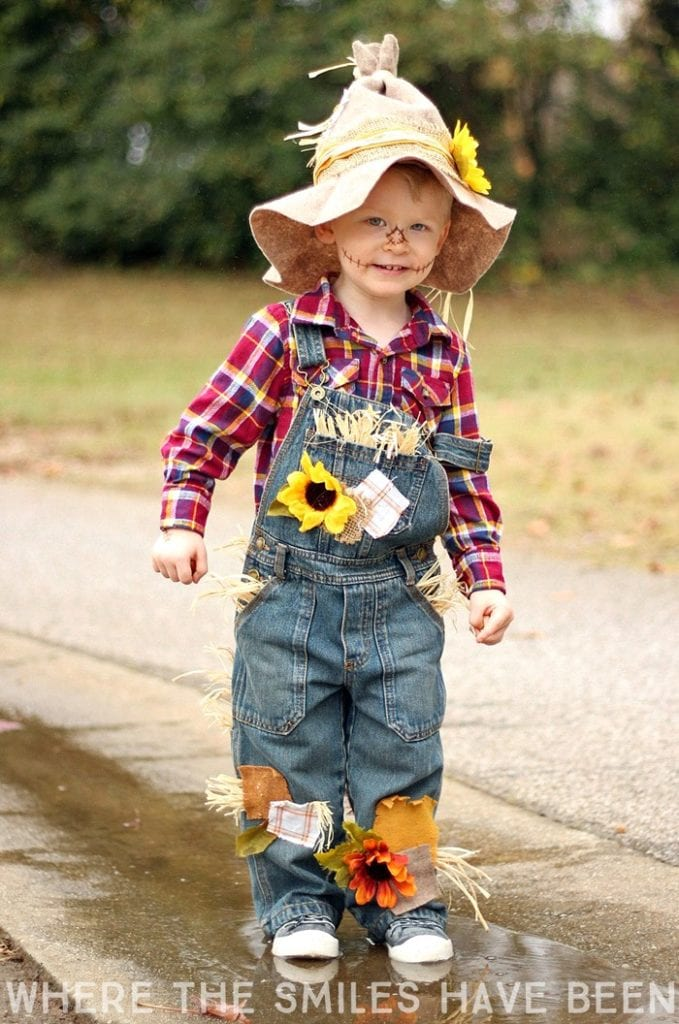 Cute Last-Minute Costume Ideas for Toddlers - Scarecrow