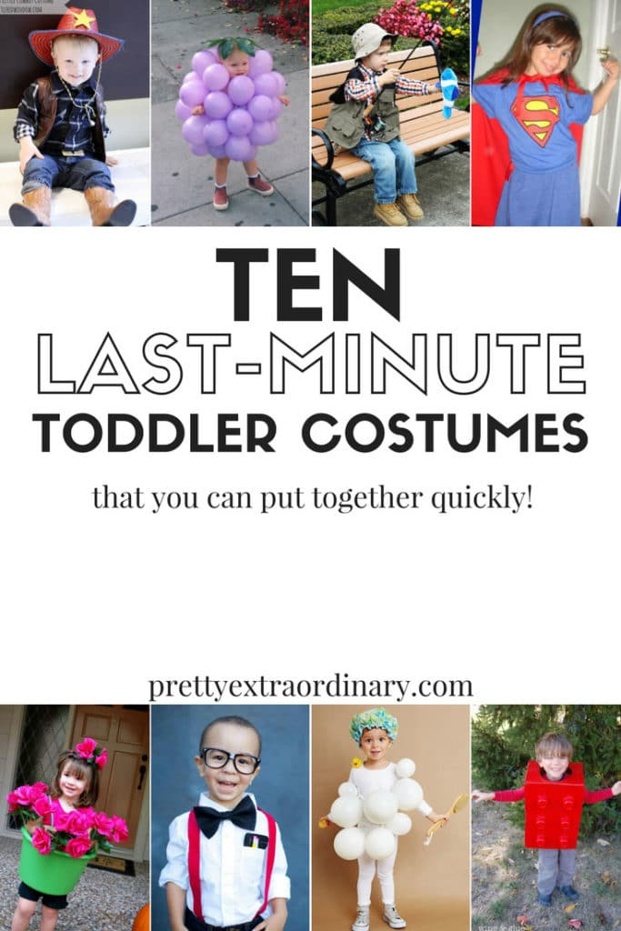 10 Cute Last-Minute Costume Ideas for Toddlers