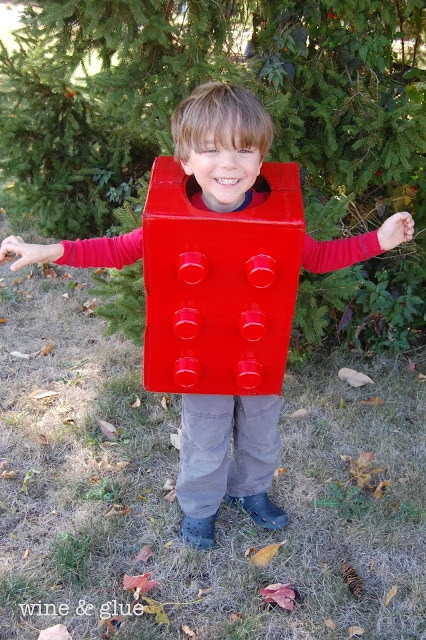 Cute Last-Minute Costume Ideas for Toddlers - Lego