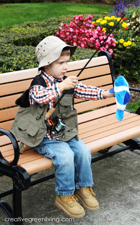 Cute Last-Minute Costume Ideas for Toddlers - Fisherman