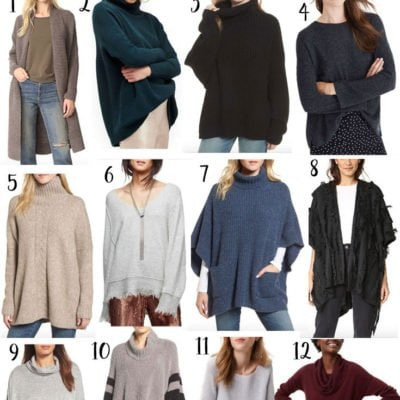 Perfect Oversized Sweaters for Thanksgiving